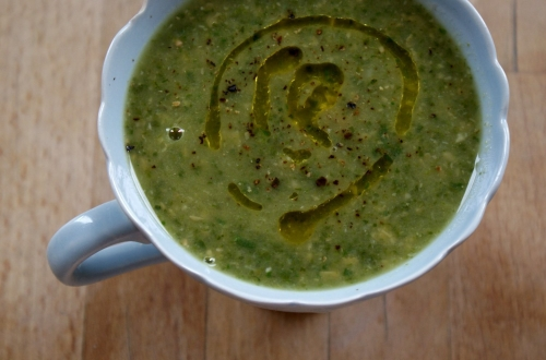 oxnosh recipes courgette chickpea and spinach soup
